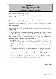 Opgave nr. 49 Tema: Valuta gennem 10 år Matematik Her ... - EH-Mat