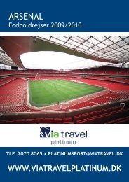 ARSENAL - VIA Travel