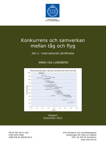 Rapport TRITA-TEC-RR 11-001 (pdf 1,7 MB) - Kungliga Tekniska ...