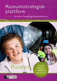 museumsstrategisk plattform - Nord-Trøndelag fylkeskommune