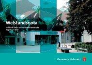 Welstandsnota gemeente Helmond 2008 - Algemeen deel