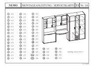 NEMO T1 Nr 1/6 MONTAGEANLEITUNG / SERVICEKARTE