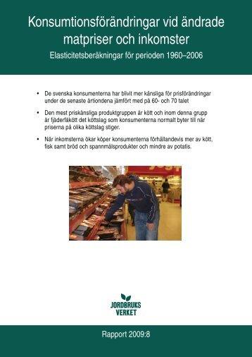 Konsumtionsförändringar vid ändrade matpriser och inkomster - bild ...