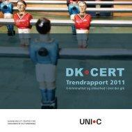 Hent DKCERT Trendrapport 2011