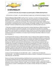 La Volt de Chevrolet, plus écologique que jamais ... - Opel Media