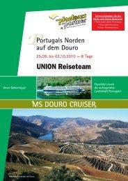 ms douro cruiser - UNION Reiseteam Ahrensburg
