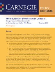 The Sources of Soviet/Iranian Conduct - Carnegie Endowment for ...