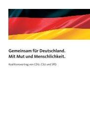Koalitionsvertrag - Allianz pro Schiene