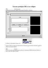 Travaux pratiques IDL et ses widgets