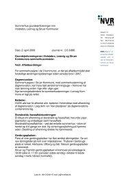 Sommerhus-grundejerforeninger mm Holstebro, Lemvig og Struer ...