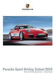 Porsche Sport Driving School 2010 - Porsche Zentrum Berlin-Potsdam
