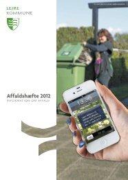 Affaldshæfte 2012 - Lejre Kommune