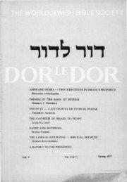 amos and hosea - Jewish Bible Quarterly