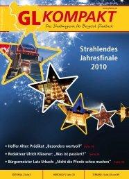 Strahlendes Jahresfinale 2010