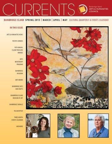 Spring 2013 edition - Bainbridge Island Arts & Humanities Council