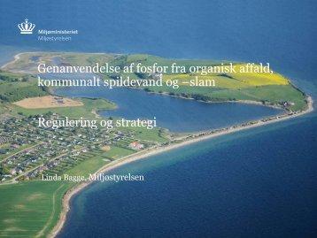 Danske og internationale målsætninger for reduktion af fosfortabet ...
