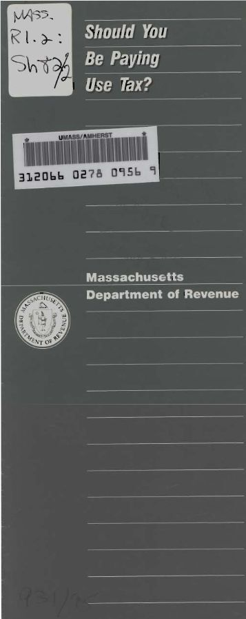 Department of Revenue