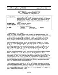 CITY COUNCIL AGENDA ITEM