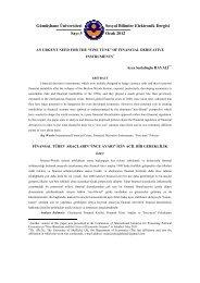 Gümüşhane Üniversitesi Sosyal Bilimler Elektronik Dergisi Sayı 5 ...