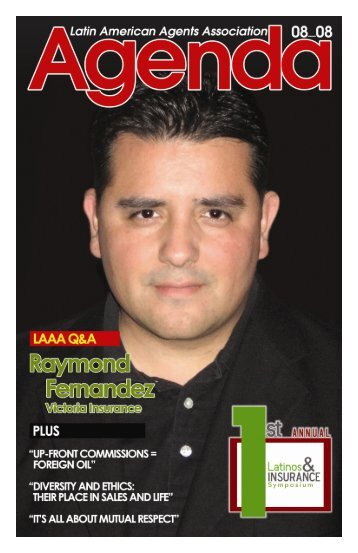August 2008 Newsletter.pub - Latin American Agents Association