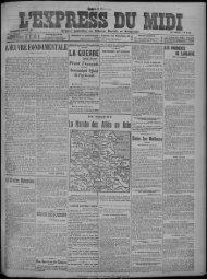 29 janvier 1916 - Bibliothèque de Toulouse