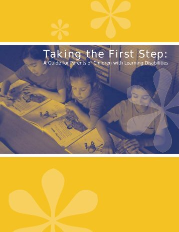 Taking the First Step: - LD Online