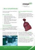 Indsamling af dagrenovation og papir i sne - Renosyd - Page 2