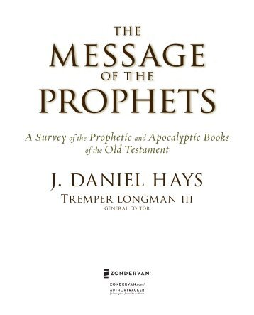 of the Prophetic - Textbook Plus - Zondervan