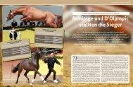Armitage und D'Olympic stellten die Sieger - Mecklenburger Pferde