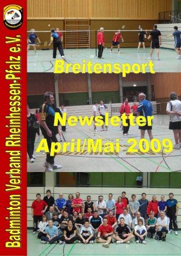 bvrp breitensportnewsletter april/ mai 2009