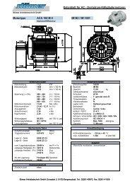 DB - ACA 160 M-4 - Stoewer Antriebstechnik