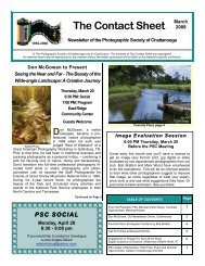 March 2008 - Photographic Society of Chattanooga