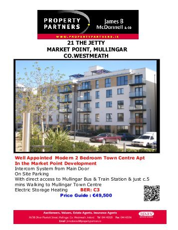 21 the jetty market point, mullingar co.westmeath - MyHome.ie