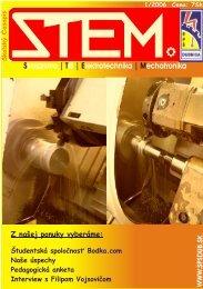 S | T | E | M trojárstvo IS lektrotechnika echatronika - Novinky