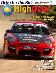 September 24-25, 2011 AMR's - Rocky Mountain Region Porsche ...