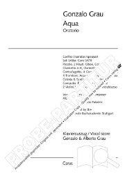 Page 1 Page 2 \. Contents Foreword lll Libretto lV i. La Voz del ...