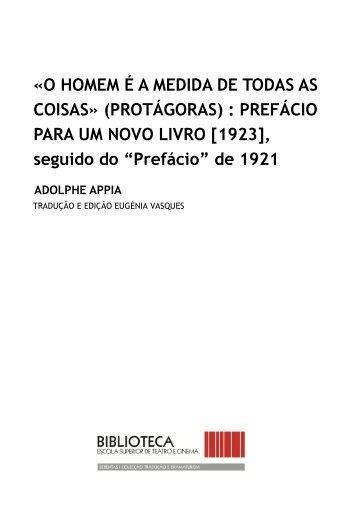 «O HOMEM É A MEDIDA DE TODAS AS COISAS» (PROTÁGORAS ...