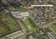 Prospekt for Regionshospitalet Horsens - Region Midtjylland