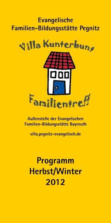 Programm Herbst/Winter 2012