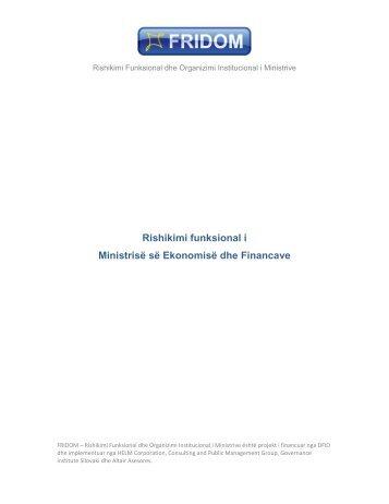Shkarko - Ministria e Administratës Publike