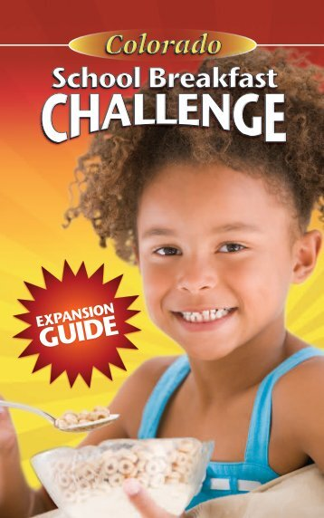 Colorado School Breakfast Challenge Expansion Guide