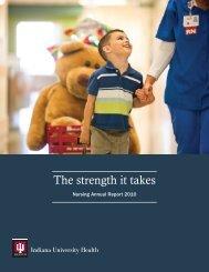 Nursing Annual Report 2010 - IU Health
