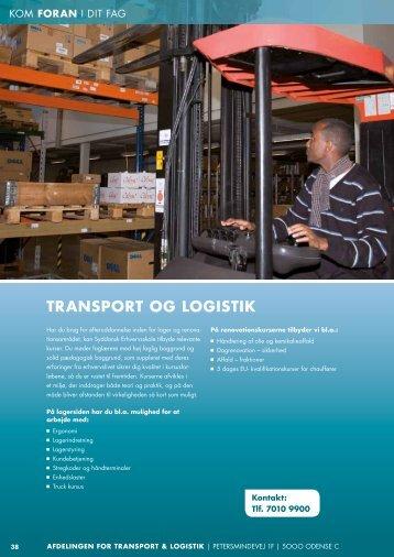 TRANSPORT OG LOGISTIK - Syddansk Erhvervsskole