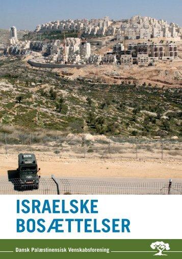 Bosætter - Dansk-Palæstinensisk Venskabsforening