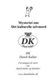 Mysteriet om det kulturelle selvmord - Islaminfo.dk