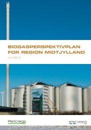 biogasperspektivplan for region midtjylland - Interreg IVB North Sea ...