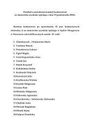 Protokół z posiedzenia komisji konkursowej na stanowisko ...