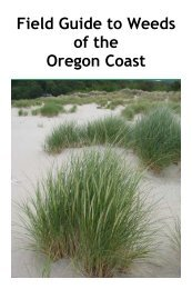 Coast weed guide - Institute for Applied Ecology