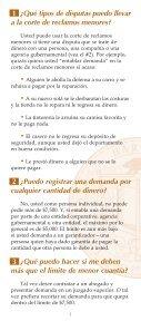 ¿CÓMO UTILIZO LA CORTE DE RECLAMOS MENORES? - Page 3