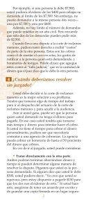 ¿CÓMO UTILIZO LA CORTE DE RECLAMOS MENORES? - Page 4